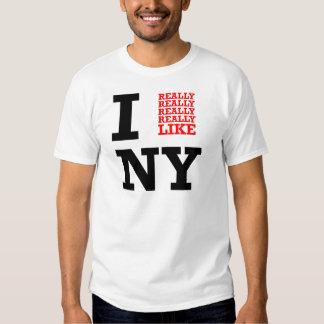 Tengo gusto realmente realmente realmente de NY Polera