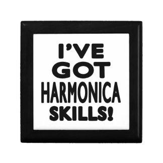 Tengo habilidades de la armónica cajas de regalo