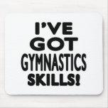 Tengo habilidades de la gimnasia alfombrilla de ratón