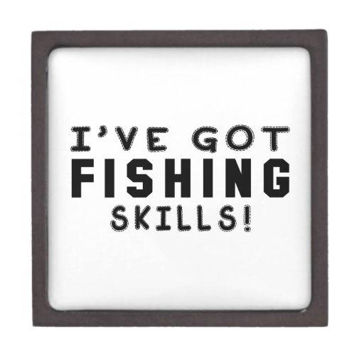 Tengo habilidades de la pesca caja de joyas de calidad