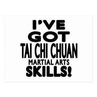 Tengo habilidades del arte marcial de Chuan de la Tarjeta Postal