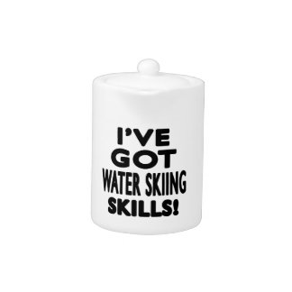 Tengo habilidades del esquí acuático