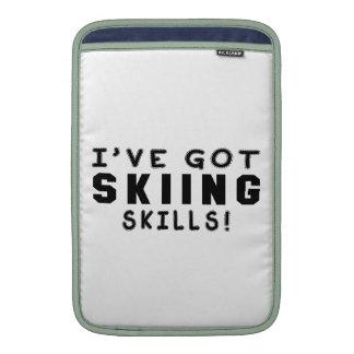 Tengo habilidades del esquí funda macbook air