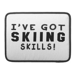 Tengo habilidades del esquí fundas para macbooks