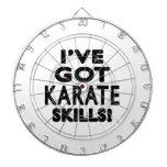 Tengo habilidades del karate tablero de dardos