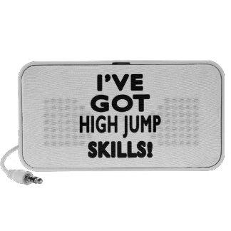 Tengo habilidades del salto de altura notebook altavoz