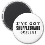 Tengo habilidades del Shuffleboard Imán De Nevera