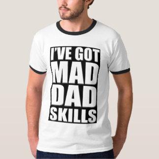 Tengo habilidades enojadas del papá playera