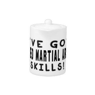 Tengo habilidades mezcladas de los artes marciales