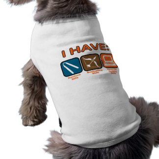 Tengo habilidades Napoleon Dynamite Playera Sin Mangas Para Perro