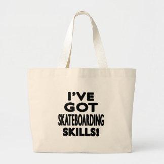 Tengo habilidades que andan en monopatín bolsas