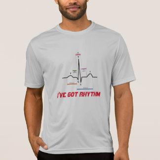 Tengo la camiseta del ritmo ECG EKG Playera