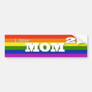 Tengo la mamá 2 (ajustada) pegatina para auto