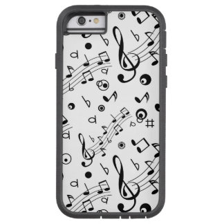 Tengo la música en mí funda para  iPhone 6 tough xtreme