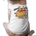 Tengo la música en mí ropa del perro camisas de perritos