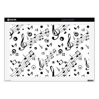 Tengo la música en mí skins para 43,2cm portátil