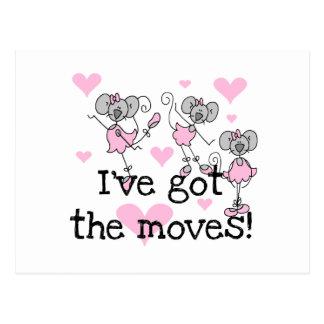 Tengo las camisetas y los regalos de la bailarina tarjetas postales