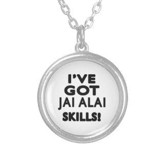 Tengo las habilidades de Jai Alai Joyeria