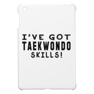 Tengo las habilidades del Taekwondo