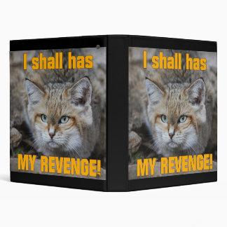 Tengo mi carpeta de la venganza