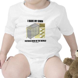 Tengo mi propia opinión filtrada del mundo traje de bebé