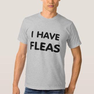Tengo pulgas playera