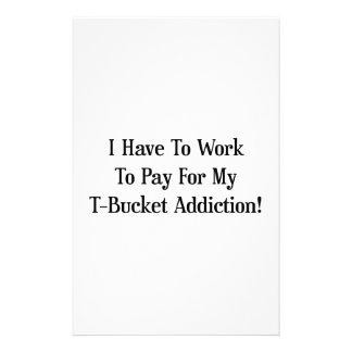 Tengo que trabajar para pagar mi apego de Tbucket Papeleria Personalizada