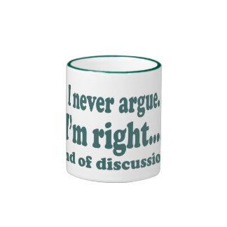 Tengo razón tazas de café