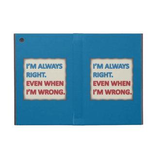 Tengo siempre razón iPad mini protectores