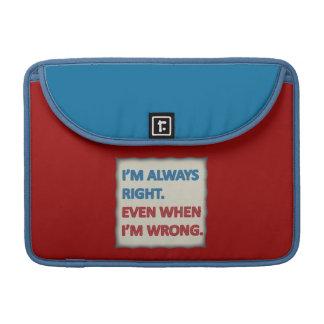 Tengo siempre razón funda macbook pro