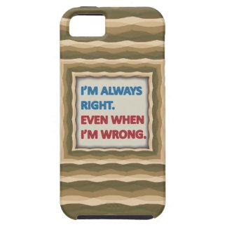 Tengo siempre razón iPhone 5 funda