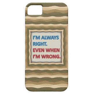 Tengo siempre razón iPhone 5 fundas