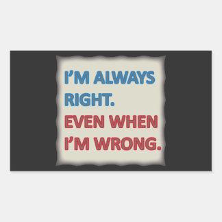 Tengo siempre razón rectangular altavoz