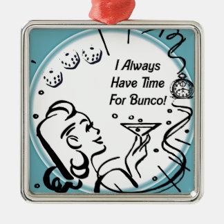 Tengo siempre tiempo para Bunco por Artinspired Adornos De Navidad