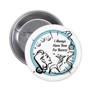 Tengo siempre tiempo para Bunco por Artinspired Pin