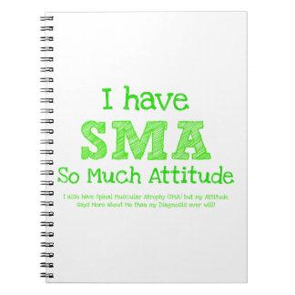 Tengo SMA - tanto actitud Libro De Apuntes Con Espiral