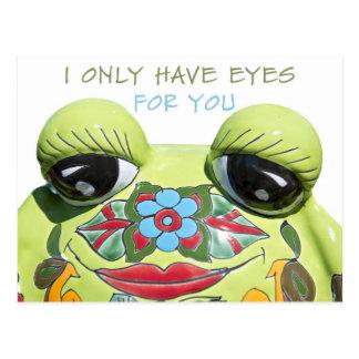 Tengo solamente ojos para usted postal
