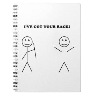 Tengo su parte posterior notebook