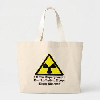 Tengo superpotencias que la radiación las guarda bolsa