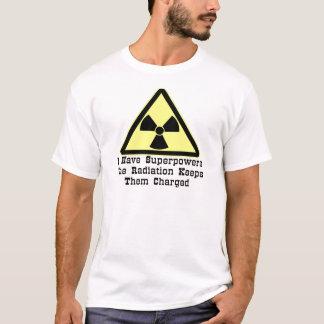 Tengo superpotencias que la radiación las guarda playera
