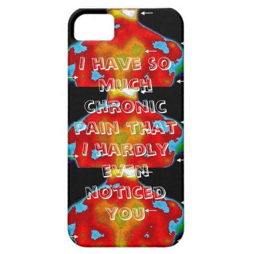 Tengo tanto dolor crónico que… iPhone 5 Case-Mate cárcasas