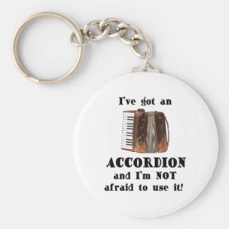 Tengo un acordeón llavero personalizado