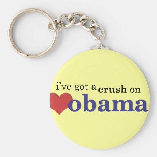 Tengo un agolpamiento en Obama Llavero Redondo Tipo Pin