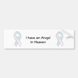 Tengo un ángel en pegatina para el parachoques del pegatina de parachoque