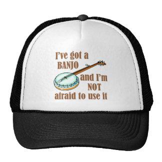 Tengo un banjo gorro de camionero