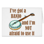 Tengo un banjo tarjeton