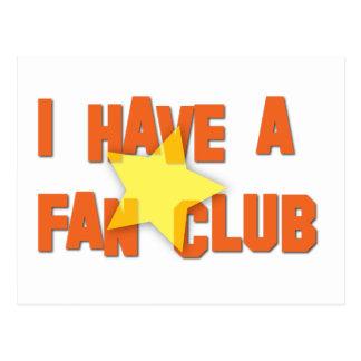 TENGO UN CLUB DE FANS II POSTALES