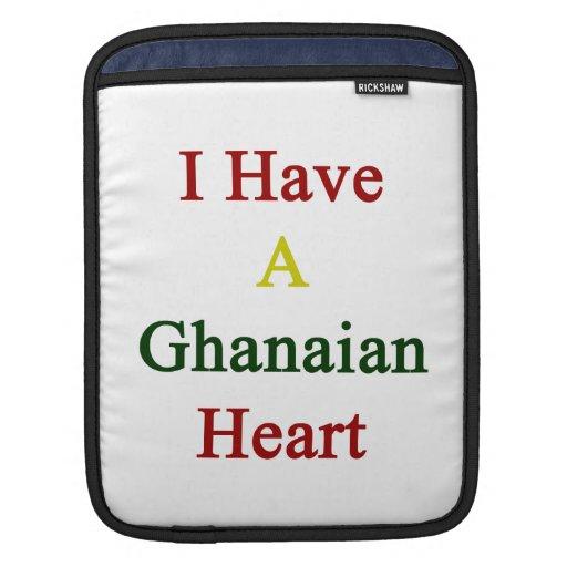 Tengo un corazón ghanés fundas para iPads