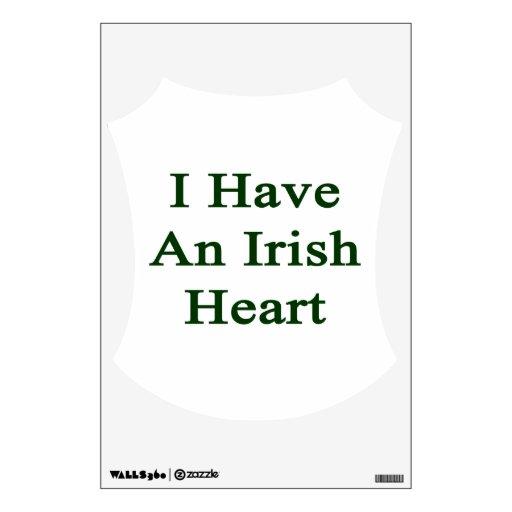 Tengo un corazón irlandés