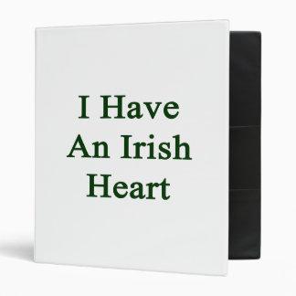 """Tengo un corazón irlandés carpeta 1"""""""